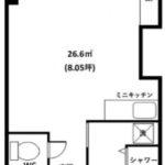 JR新宿駅11分 26㎡のデリヘル事務所(7階)☆風俗承諾可