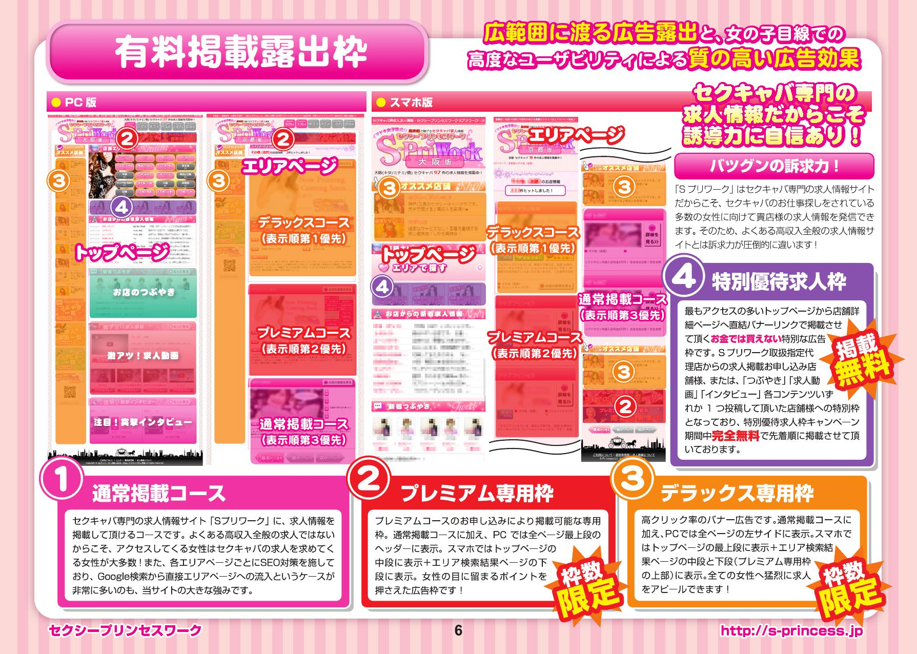 【Sプリワーク】 体験入店OK!日払いセクキャバ求人バイト情報